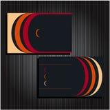 22 установленной визитной карточки Стоковое фото RF