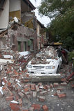 22 20011克赖斯特切奇地震2月 图库摄影