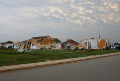 22 2011 joplin mogą mo słońca tornado Obraz Royalty Free