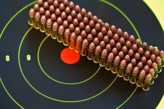 22 ammo kaliber lr Zdjęcie Royalty Free