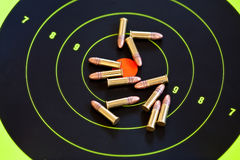 22 ammo kaliber lr Obraz Royalty Free