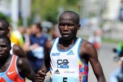22. Belgrad-Marathon Stockbild