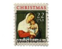 22 centów stary znaczek pocztowy usa Obrazy Stock