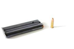 .22 Grampo da munição Imagem de Stock Royalty Free