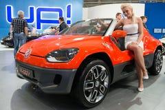 22. Intl. Autoausstellung in Bratislava, Slowakei 2012 Stockfotografie