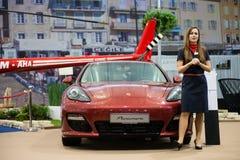 22. Intl. Autoausstellung in Bratislava, Slowakei 2012 Lizenzfreie Stockfotografie