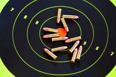 .22 LR caliber ammo Royalty Free Stock Image