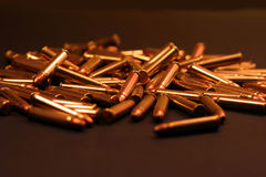 22 Magnum Bullets. Bullets Royalty Free Stock Image