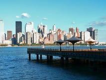 22 Manhattan inférieure Images libres de droits