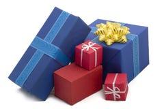 22 pudełek prezent Obrazy Royalty Free