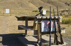 22 rifle range Royalty Free Stock Photos