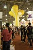 22 São Paulo International Book Biennial - Brazilië Stock Foto's