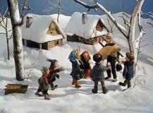 22 traditions européennes Image libre de droits