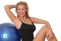 223 fizycznej fitness dziewczyna Obraz Royalty Free