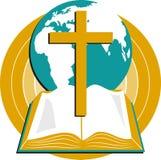 圣洁的圣经 皇族释放例证