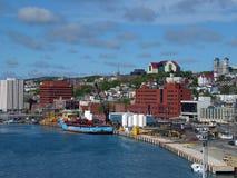 城市harborfront 图库摄影