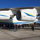 An-225 engine Royalty Free Stock Image