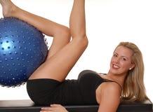 225 fizycznej fitness dziewczyna Fotografia Royalty Free