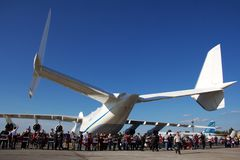 An-225 tail Stock Image