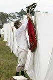 225o Aniversario de la victoria en Yorktown Fotografía de archivo