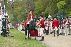 225ste Verjaardag van de Overwinning in Yorktown, Royalty-vrije Stock Foto