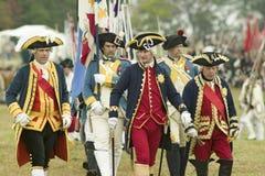 225th годовщина победы на Yorktown, Стоковое Изображение RF
