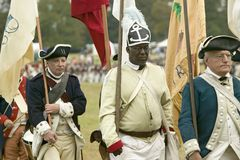 225th Anniversaire de la victoire chez Yorktown Photos libres de droits