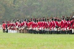 225th Anniversaire de la victoire chez Yorktown Image stock