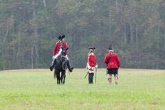 225th Jahrestag des Sieges bei Yorktown, Lizenzfreie Stockfotografie