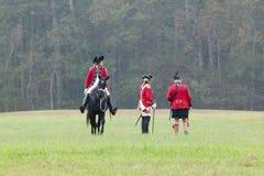 225th Rocznica zwycięstwo przy Yorktown, Fotografia Royalty Free