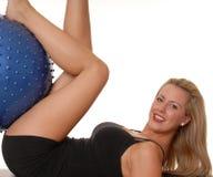 226 fizycznej fitness dziewczyna Obraz Stock