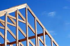 大厦框架 免版税库存照片