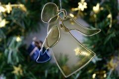 天使圣诞节 图库摄影