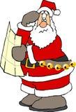 失去的圣诞老人 库存照片