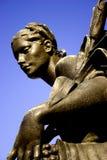 女性雕象 库存图片