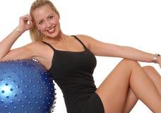 229 fizycznej fitness dziewczyna Obraz Royalty Free