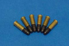 Free .22lr Ammunition Royalty Free Stock Photo - 1289115