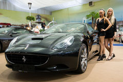 22nd Intl. Motor Show in Bratislava, Slovakia 2012 Stock Images