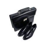 23双袋子鞋子 免版税库存图片