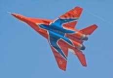 23支空军周年纪念俄语 免版税库存图片