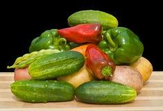 23棵蔬菜 免版税库存照片