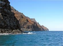 23海岸考艾岛napali 图库摄影