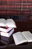 23 книг законных стоковая фотография