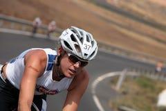 23 2009 événements Lanzarote ironman peuvent triathlon Images libres de droits