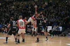23 29 aab Aarhus gf handball Obrazy Stock