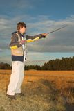 #23 Flyfishing Imagem de Stock Royalty Free