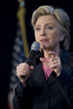 231 Clinton Hillary wiec Fotografia Royalty Free