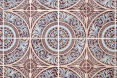 231 glasade portugisiska tegelplattor Royaltyfri Bild