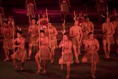 2312 haka maoryjski Obrazy Royalty Free
