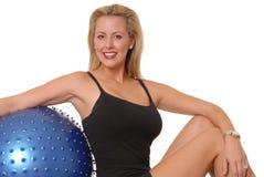 232 fizycznej fitness dziewczyna Obrazy Stock